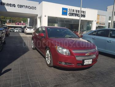 Foto venta Auto usado Chevrolet Malibu 3.6L LTZ Paq G (2010) color Vino Tinto precio $139,000