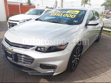 Foto venta Auto Usado Chevrolet Malibu PAQ D (2018) color Plata Brillante precio $510,000