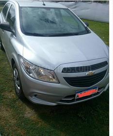 Foto venta Auto Usado Chevrolet Onix LT (2016) color Gris Claro precio $280.000