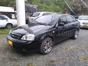 Chevrolet Optra Advance 1.8 Mec 4P usado (2008) color Negro precio $18.800.000
