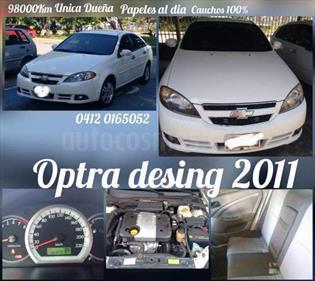 Chevrolet Optra Design 1.8L Aut usado (2011) color Blanco Glaciar precio u$s3.200
