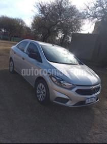 Foto venta Auto usado Chevrolet Prisma LT (2017) color Gris Plata  precio $280.000