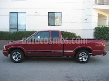 Foto venta Auto Seminuevo Chevrolet S-10 Doble Cabina (2001) color Vino Tinto precio $28,500