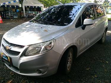 Chevrolet Sail Hatchback 1.4 LT  usado (2013) color Plata Brillante precio $28.000.000