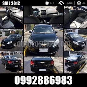 Chevrolet Sail Sedan 1.4L Ac usado (2012) color Negro precio u$s11.000