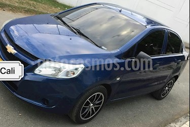 Foto venta Carro Usado Chevrolet Sail LS Ac (2015) color Azul precio $26.000.000