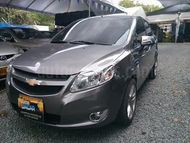 Chevrolet Sail LS  usado (2015) color Gris Galapagos precio $30.500.000