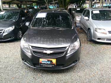 Chevrolet Sail LS  usado (2015) color Gris Galapagos precio $28.800.000