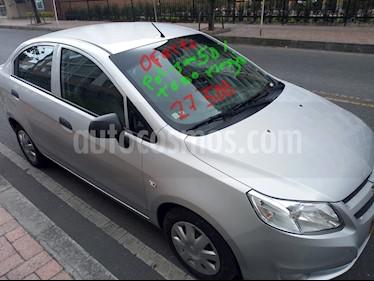 Foto venta Carro Usado Chevrolet Sail LS (2017) color Plata Brillante precio $27.500