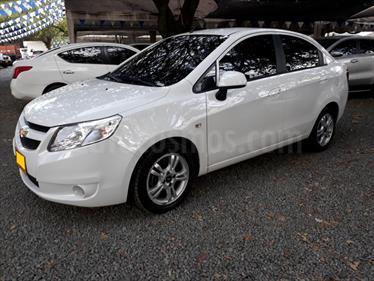 Chevrolet Sail LTZ  usado (2017) color Blanco precio $35.500.000