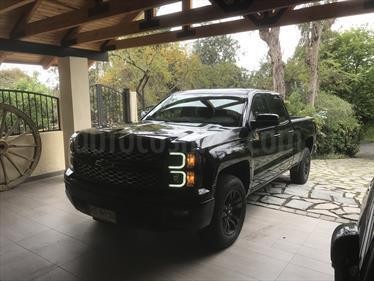 Foto venta Auto usado Chevrolet Silverado 5.3L 4x4 LT Z71 EXT (2017) color Negro precio $20.500.000
