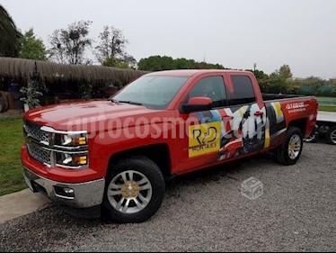 Chevrolet Silverado 5.3L 4x4 LTZ usado (2016) color Rojo precio $20.000.000