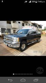 Foto venta carro usado Chevrolet Silverado LT 5.3L Doble Cabina 4x4 (2012) color Azul precio u$s16.500