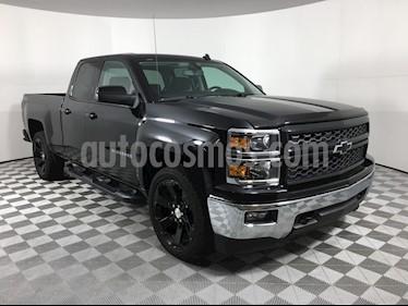 Foto venta carro usado Chevrolet Silverado LT 5.3L Doble Cabina 4x4 (2014) color Negro precio BoF7.200.000