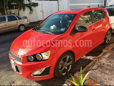 Foto venta Auto usado Chevrolet Sonic RS 1.4L (2015) color Rojo precio $178,000
