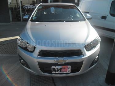 Foto venta Auto usado Chevrolet Sonic  1.6 Ac (2012) color Gris Plata  precio $230.000