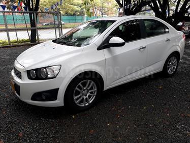 Chevrolet Sonic 1.6 LT Aut usado (2013) color Blanco precio $34.500.000