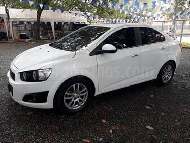 Chevrolet Sonic 1.6 LT Aut usado (2015) color Blanco Artico precio $38.500.000