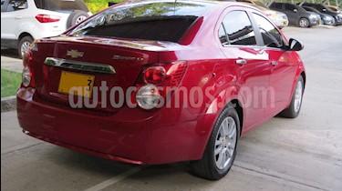 Chevrolet Sonic 1.6 LT Aut usado (2015) color Rojo precio $34.000.000