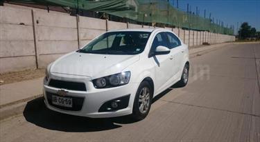 Chevrolet Sonic 1.6 LT  usado (2014) color Blanco precio $6.350.000
