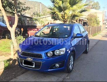 Chevrolet Sonic 1.6 LT  usado (2012) color Azul precio $5.300.000