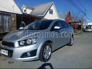 Chevrolet Sonic 1.6 LT  usado (2012) color Plata precio $4.890.000