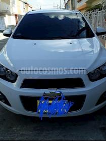 Chevrolet Sonic 1.6 LT  usado (2016) color Blanco precio $39.500.000
