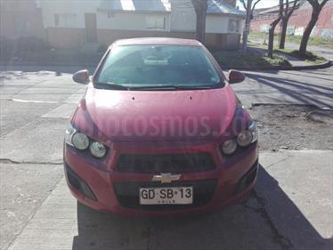 Foto venta Auto usado Chevrolet Sonic 1.6  (2013) color Rojo Burdeos precio $6.100.000