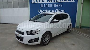 Foto venta Auto Usado Chevrolet Sonic  5P 1.6 LTZ MT (2012) color Blanco precio $275.000