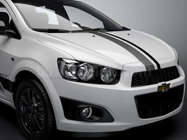 Foto venta Auto Usado Chevrolet Sonic  Effect (2015) color Blanco precio $240.000