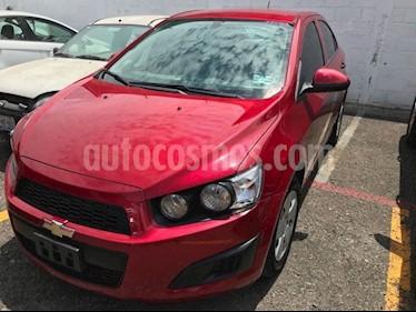 Foto venta Auto usado Chevrolet Sonic LS (2016) color Rojo Tinto precio $154,000