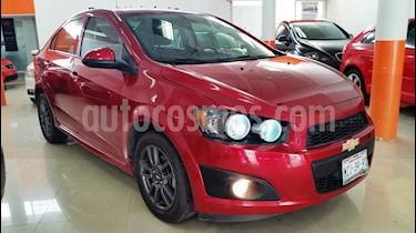 Foto venta Auto Usado Chevrolet Sonic LS (2016) color Rojo Tinto precio $160,001