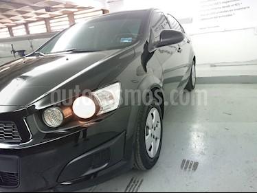 Foto venta Auto Usado Chevrolet Sonic LS (2016) color Negro precio $142,500