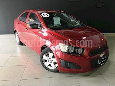 Foto venta Auto Seminuevo Chevrolet Sonic LS (2013) color Rojo Tinto precio $115,000