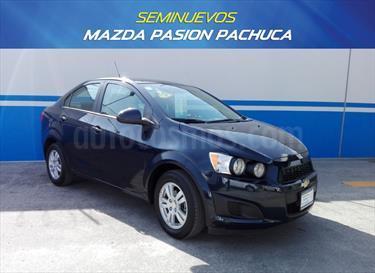 Foto venta Auto Seminuevo Chevrolet Sonic LT Aut (2015) color Azul Naval precio $175,000