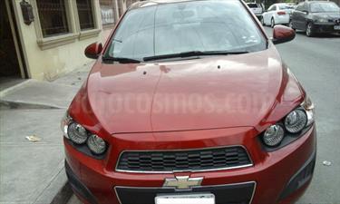 Foto venta Auto usado Chevrolet Sonic LT Aut (2014) color Rojo Tinto precio $170,000