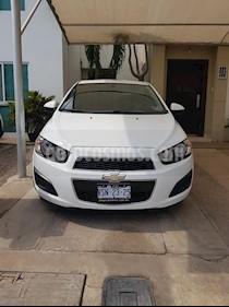 Foto venta Auto Seminuevo Chevrolet Sonic LT Aut (2014) color Blanco precio $135,000