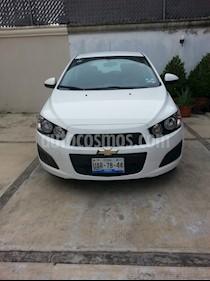 Foto venta Auto usado Chevrolet Sonic LT Aut (2016) color Blanco precio $160,000