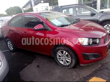 Foto venta Auto Seminuevo Chevrolet Sonic LT Aut (2014) color Rojo Tinto precio $142,000