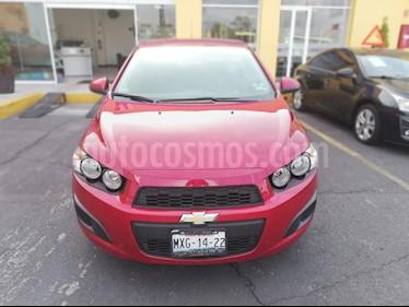 Foto venta Auto Seminuevo Chevrolet Sonic LT HB (2016) color Rojo Tinto precio $174,000