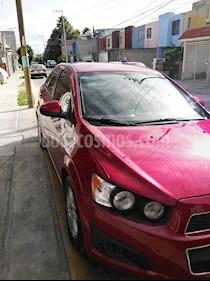 Foto venta Auto usado Chevrolet Sonic LT (2013) color Rojo precio $118,000