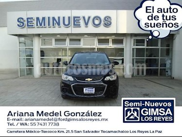 Foto venta Auto Usado Chevrolet Sonic LT (2016) color Negro precio $147,000