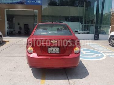 Foto venta Auto Usado Chevrolet Sonic LT (2013) color Rojo precio $135,000