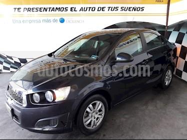 Foto venta Auto Seminuevo Chevrolet Sonic LT (2016) color Azul precio $168,000