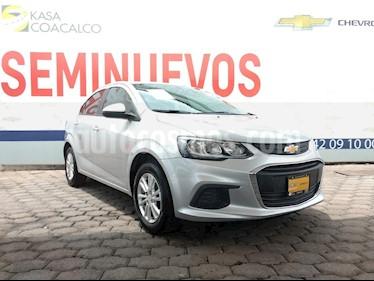 Foto venta Auto Seminuevo Chevrolet Sonic LT (2017) color Plata precio $205,000