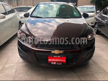 Foto venta Auto Seminuevo Chevrolet Sonic LT (2016) color Cafe Hickory precio $159,000