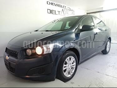 Foto venta Auto Seminuevo Chevrolet Sonic LT (2016) color Azul Naval precio $160,600