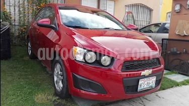 Foto venta Auto usado Chevrolet Sonic LT (2015) color Rojo Tinto precio $140,000
