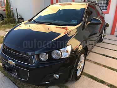 Foto venta Auto usado Chevrolet Sonic LTZ Aut (2016) color Azul Naval precio $186,500