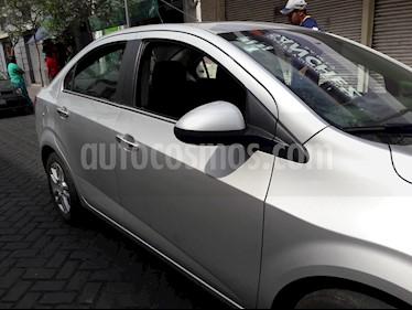 Foto venta Auto usado Chevrolet Sonic LTZ Aut (2016) color Plata precio $168,000